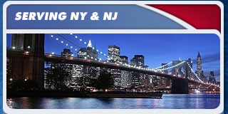 We serve the Northern New Jersey and Metropolitan New York area.